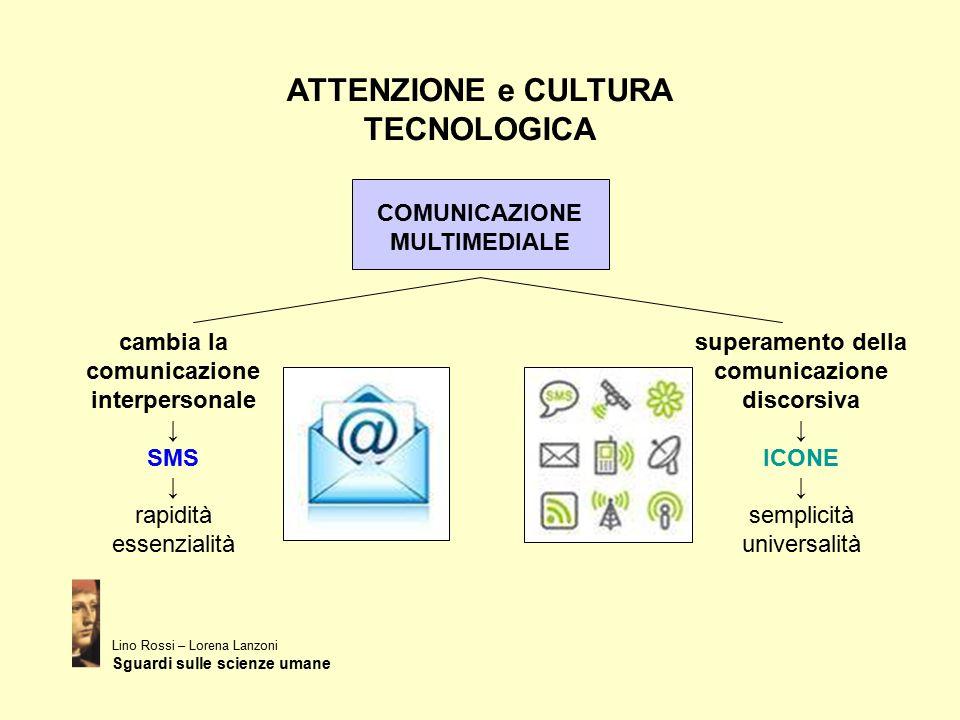 ATTENZIONE e CULTURA TECNOLOGICA