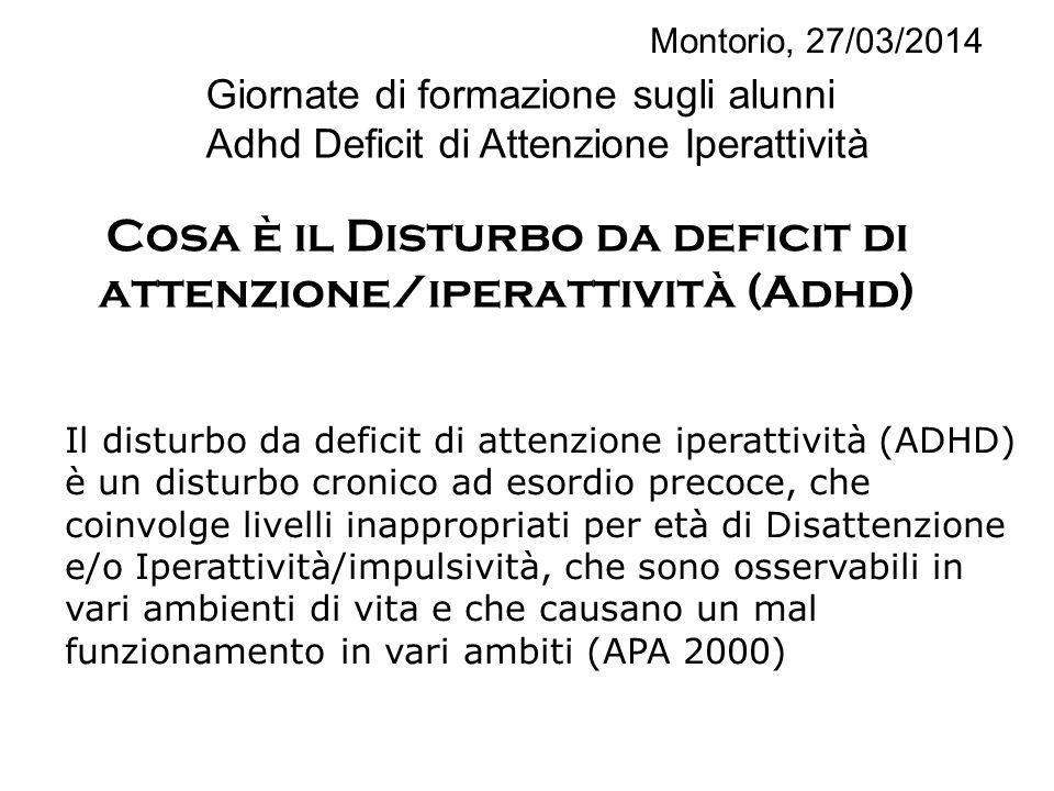Cosa è il Disturbo da deficit di attenzione/iperattività (Adhd)