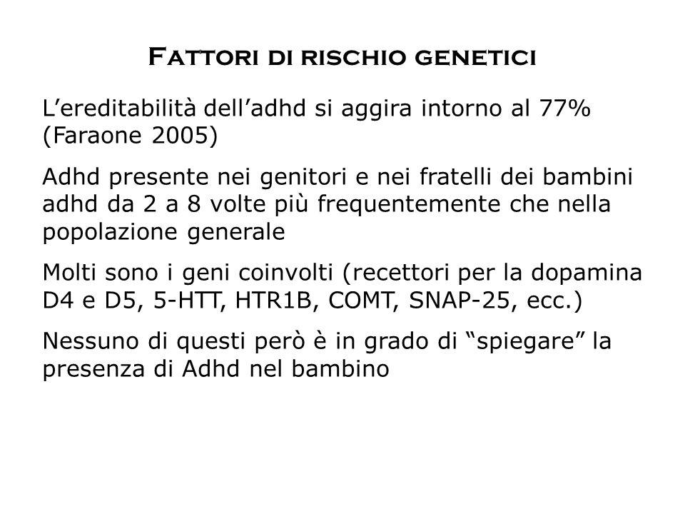 Fattori di rischio genetici