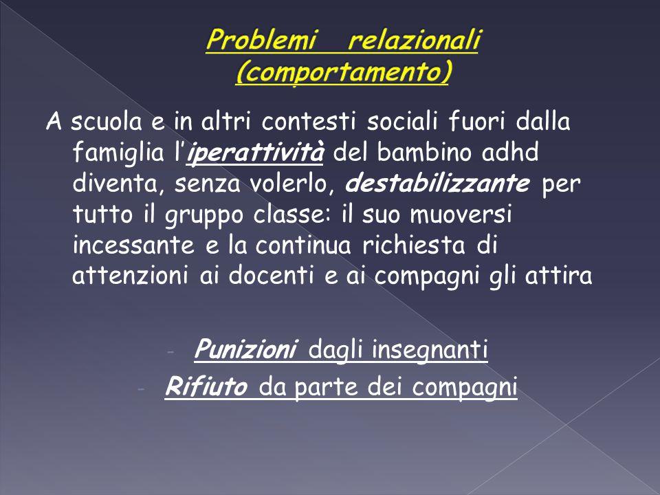 Problemi relazionali (comportamento)