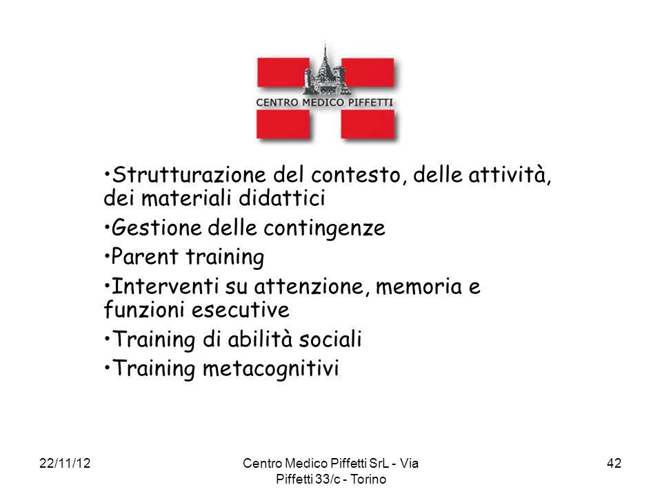 Centro Medico Piffetti SrL - Via Piffetti 33/c - Torino