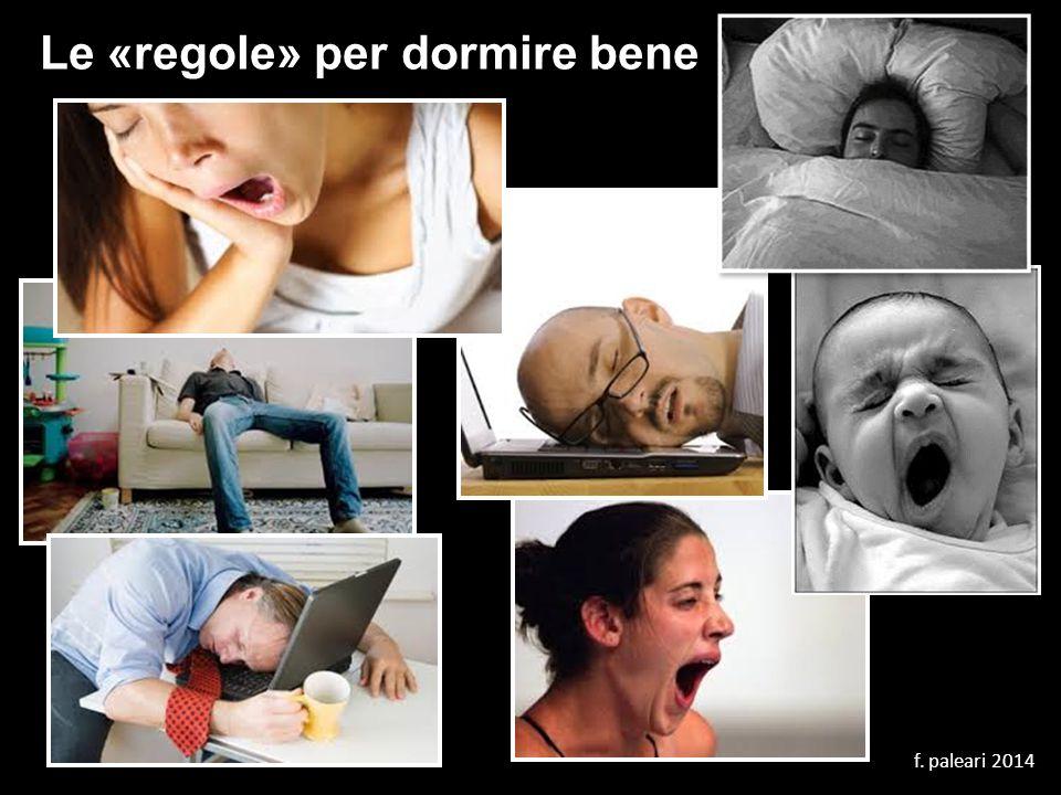 Le «regole» per dormire bene