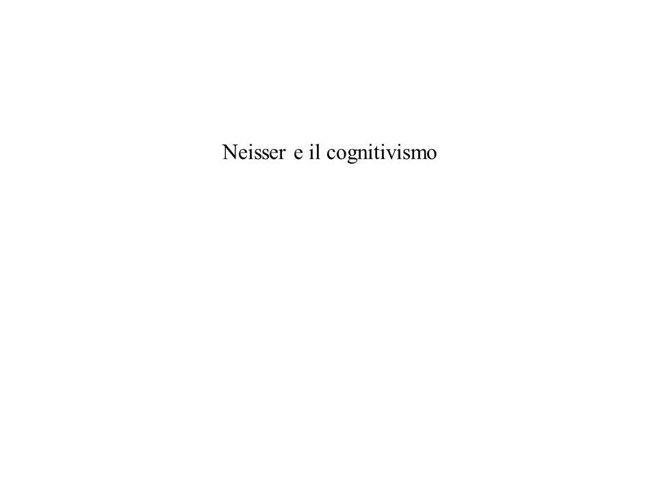 Neisser e il cognitivismo