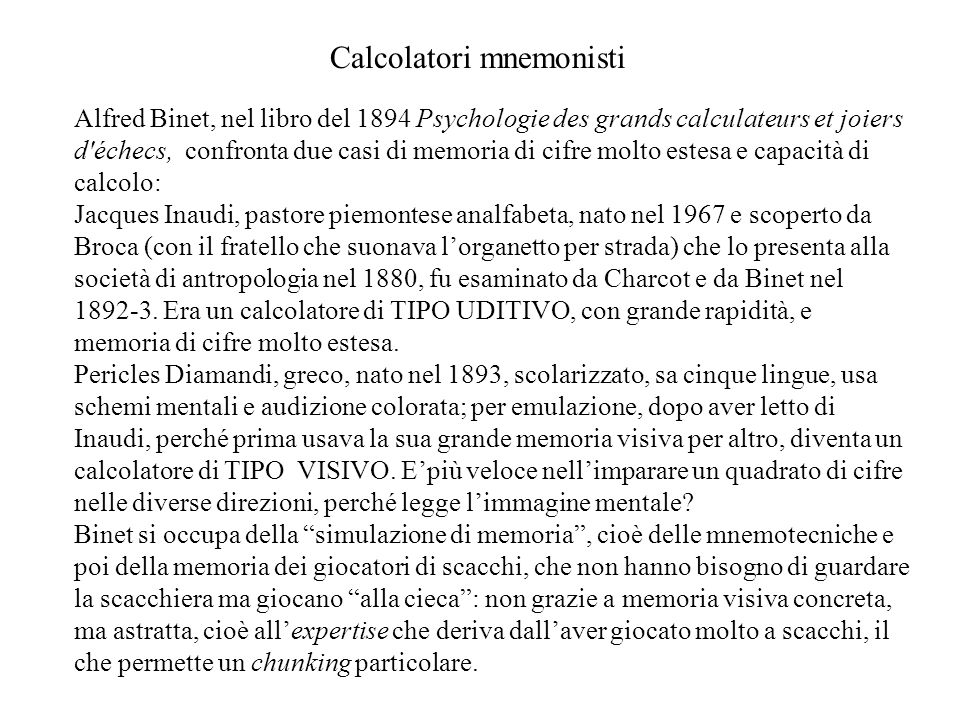Calcolatori mnemonisti