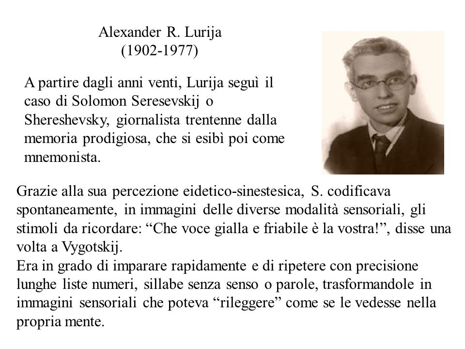 Alexander R. Lurija (1902-1977)