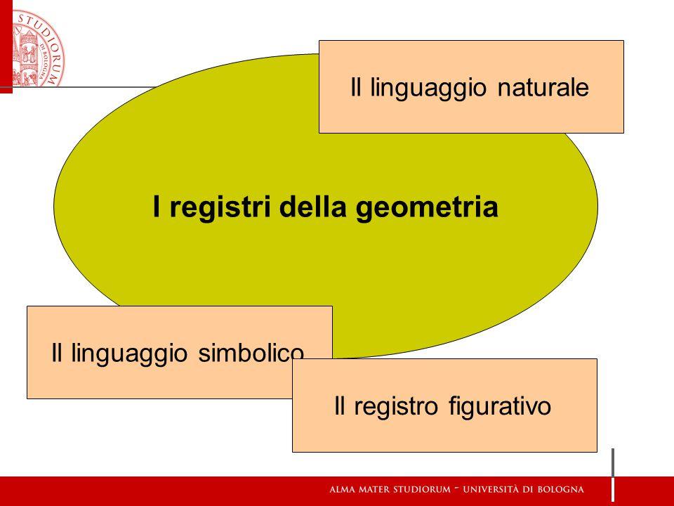 I registri della geometria