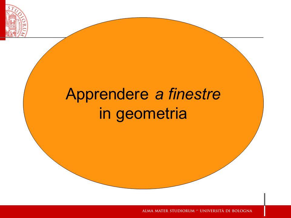 Apprendere a finestre in geometria