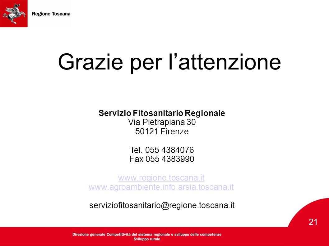 Servizio Fitosanitario Regionale