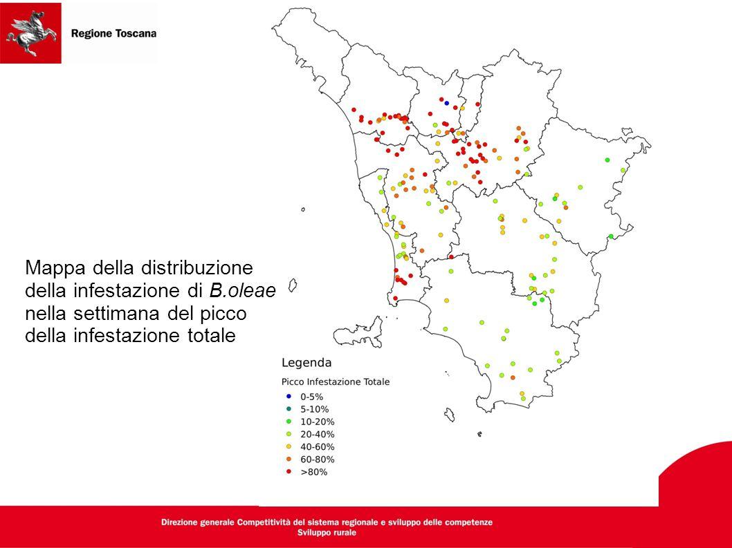 Mappa della distribuzione