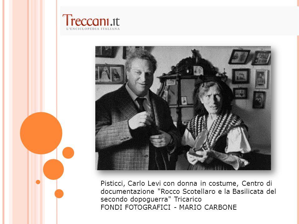 Pisticci, Carlo Levi con donna in costume, Centro di documentazione Rocco Scotellaro e la Basilicata del secondo dopoguerra Tricarico