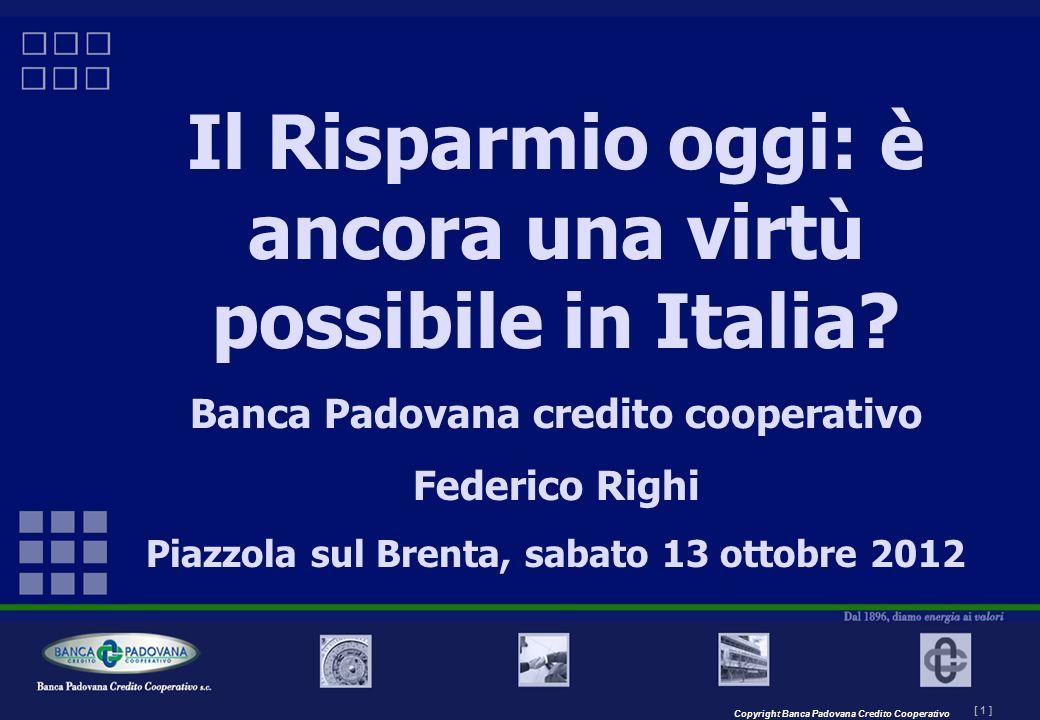 Il Risparmio oggi: è ancora una virtù possibile in Italia