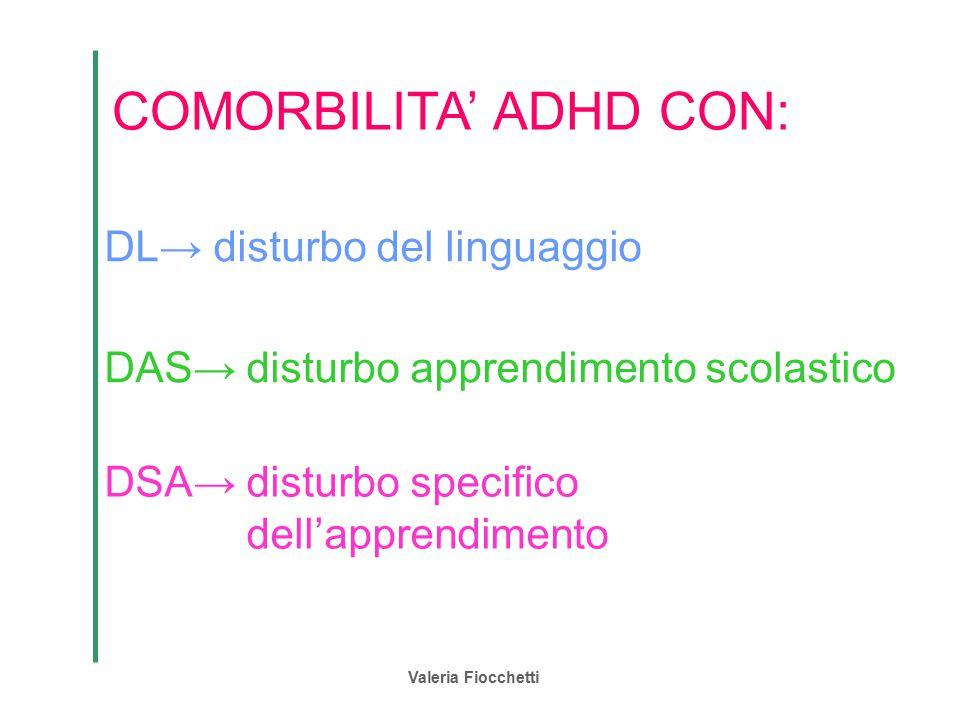 COMORBILITA' ADHD CON: