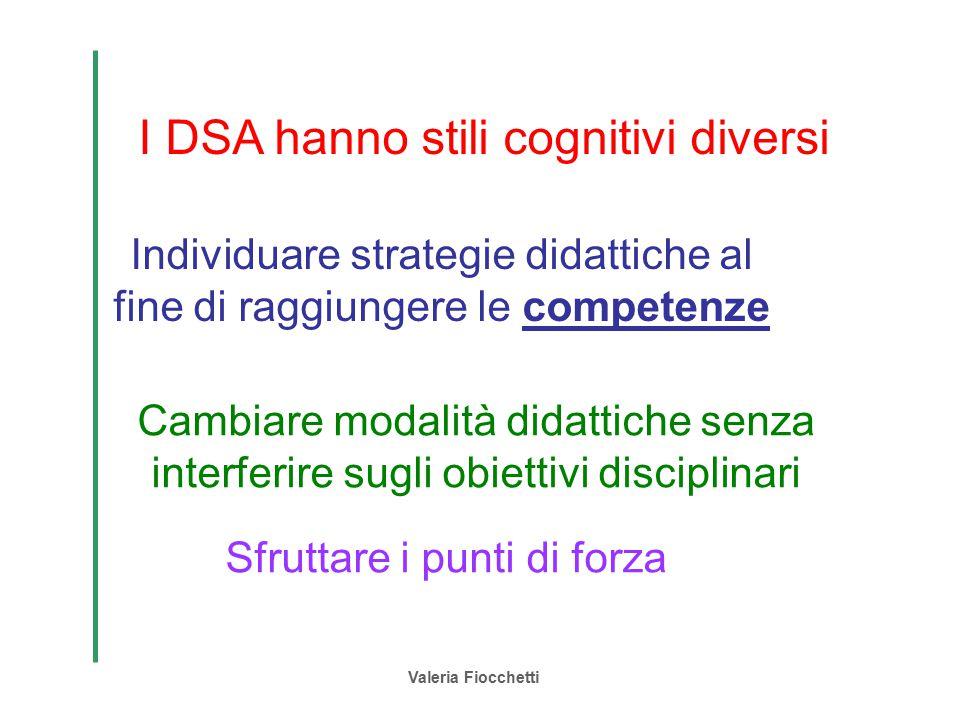 I DSA hanno stili cognitivi diversi