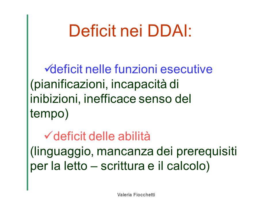 Deficit nei DDAI: deficit nelle funzioni esecutive