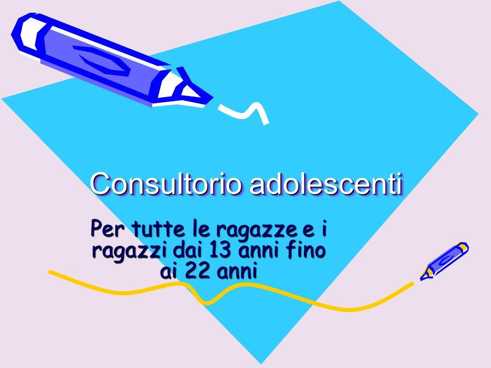 Consultorio adolescenti