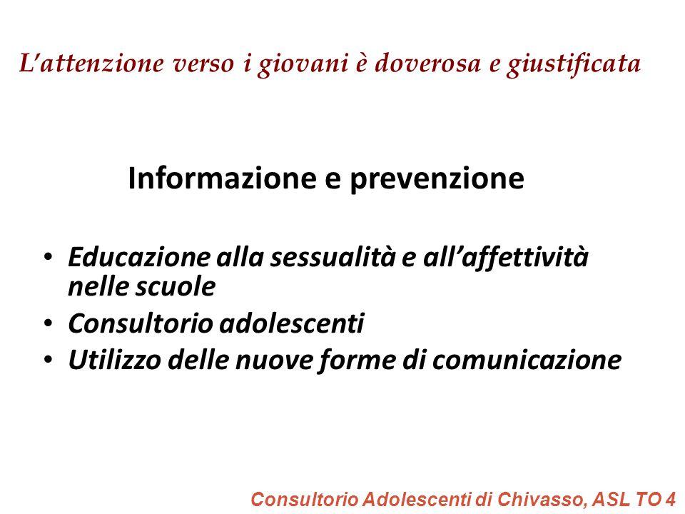 Informazione e prevenzione