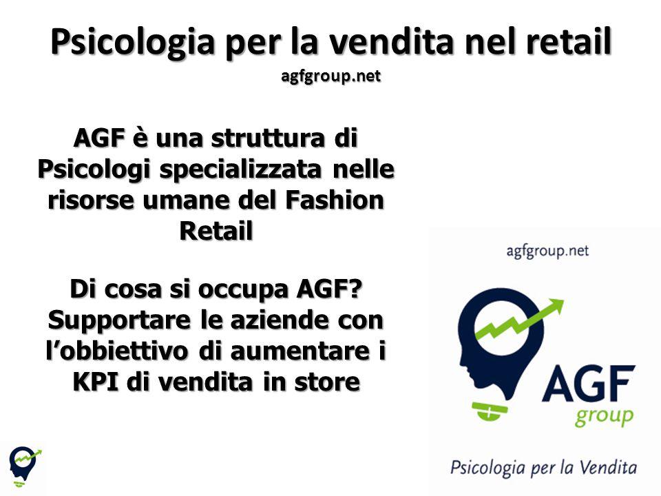 Psicologia per la vendita nel retail agfgroup.net