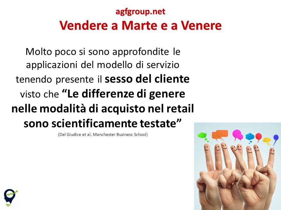 Vendere a Marte e a Venere
