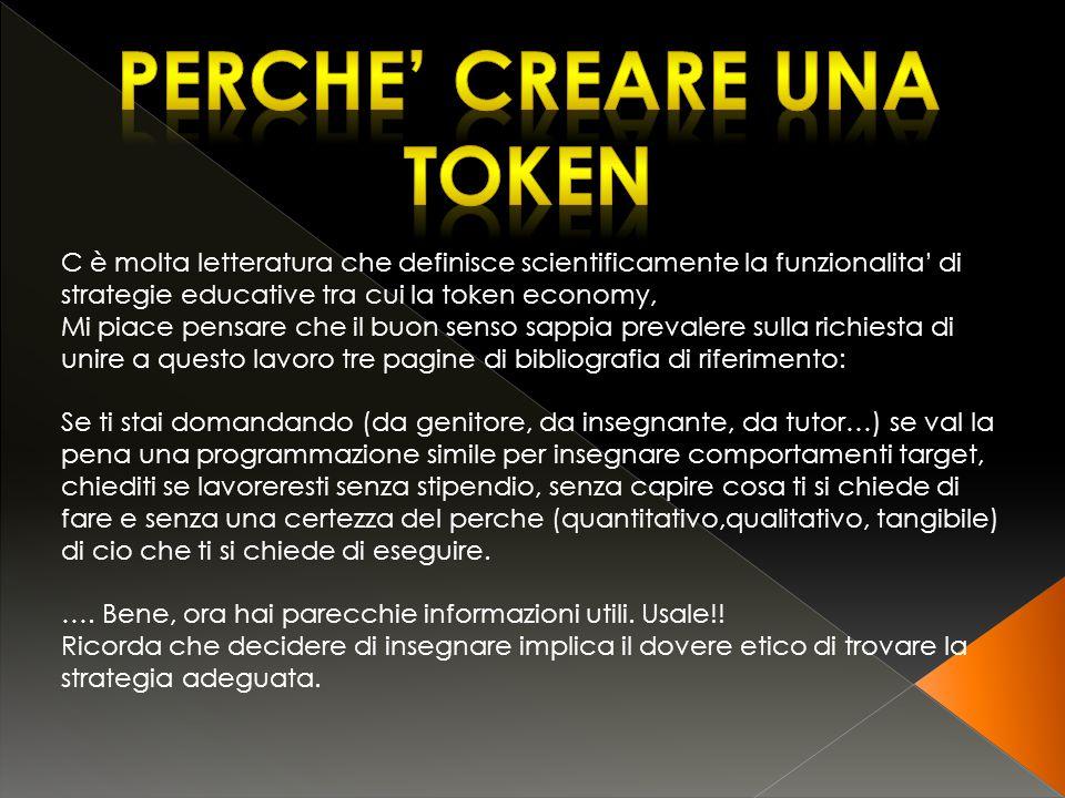 Perche' creare una token