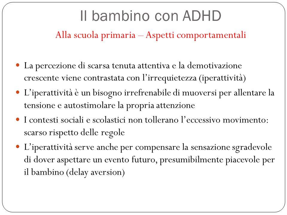 Il bambino con ADHD Alla scuola primaria – Aspetti comportamentali