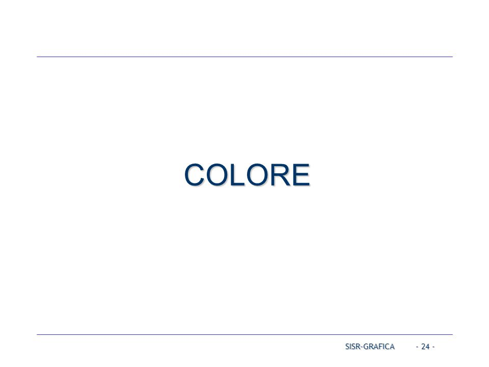 COLORE Operating Systems Operating Systems Operating Systems