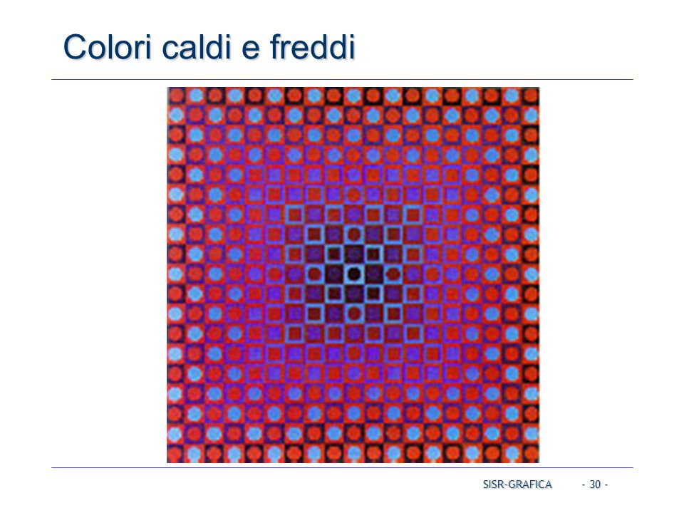 Colori caldi e freddi Operating Systems Operating Systems