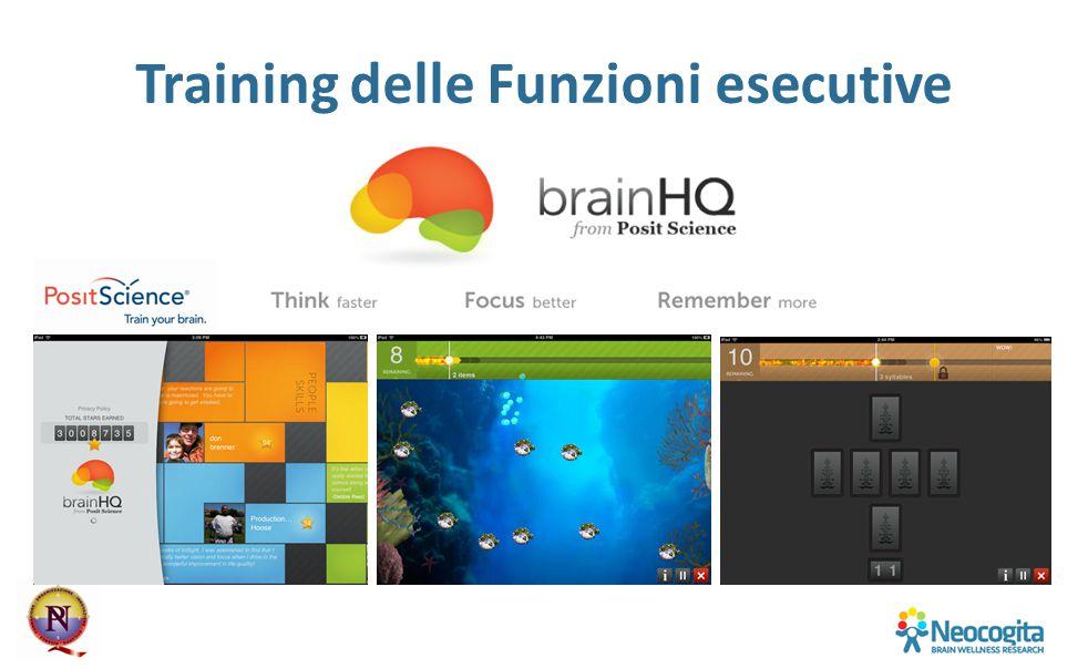 Training delle Funzioni esecutive