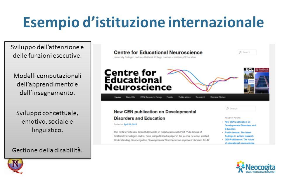 Esempio d'istituzione internazionale