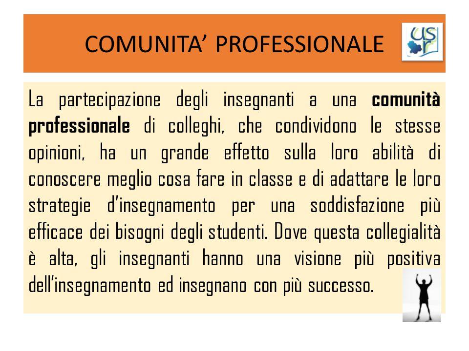COMUNITA' PROFESSIONALE