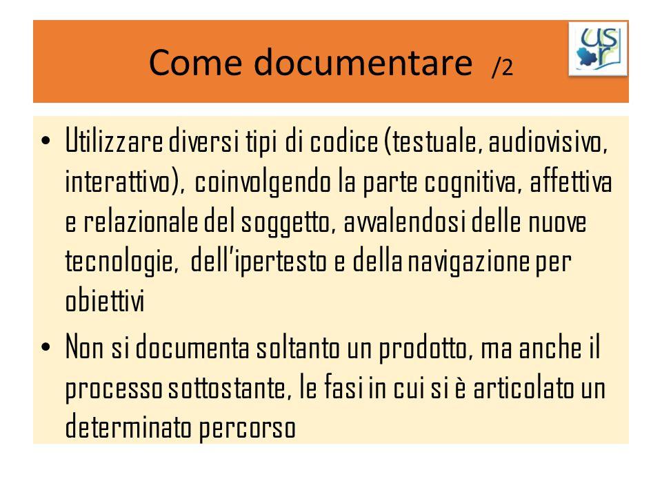 Come documentare /2