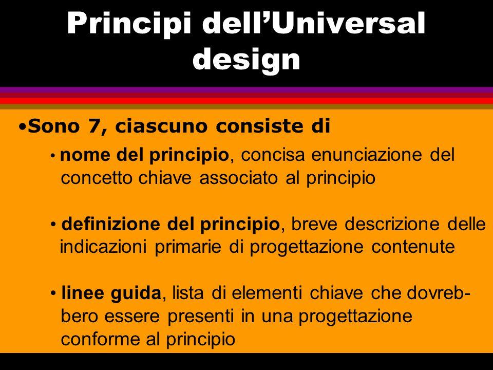 Principi dell'Universal design