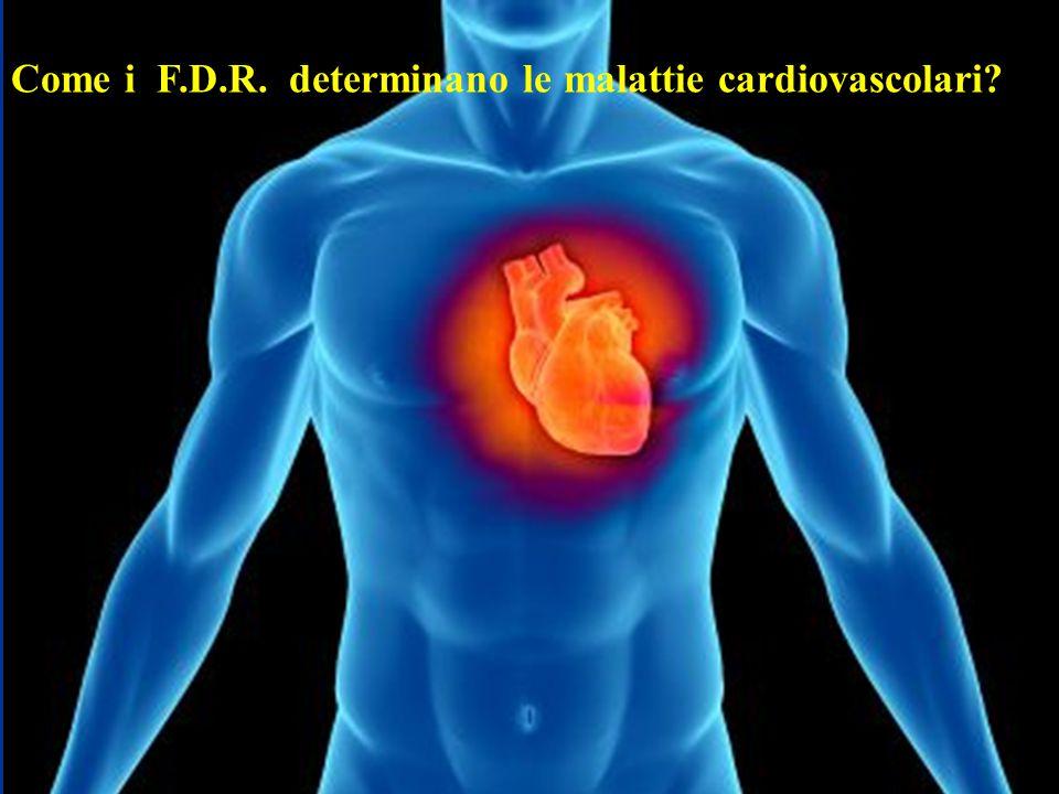 Come i F.D.R. determinano le malattie cardiovascolari