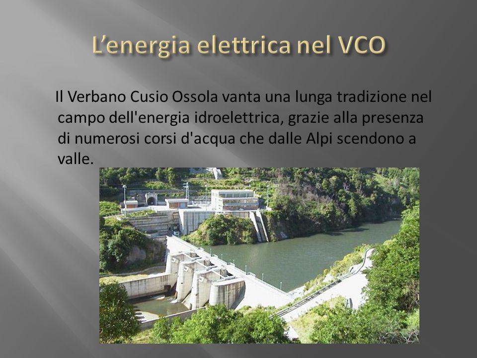 L'energia elettrica nel VCO