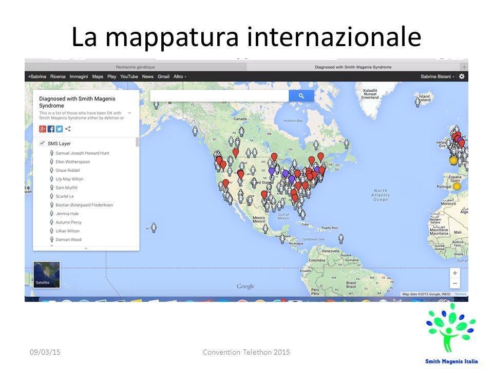 La mappatura internazionale