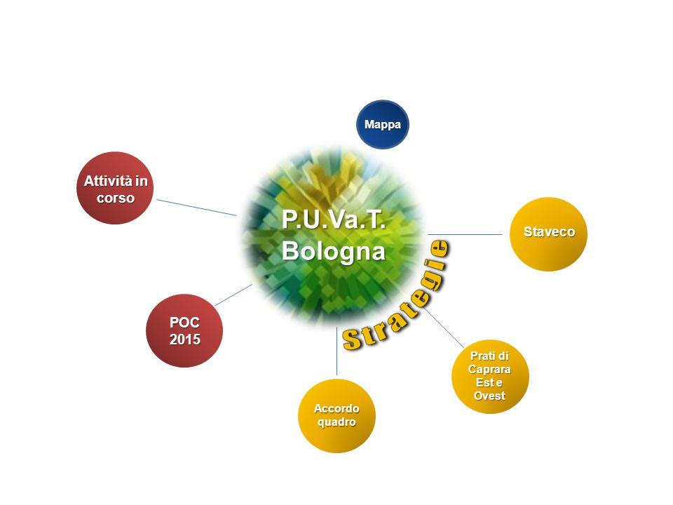 P.U.Va.T. Bologna Attività in corso POC 2015 Staveco Mappa