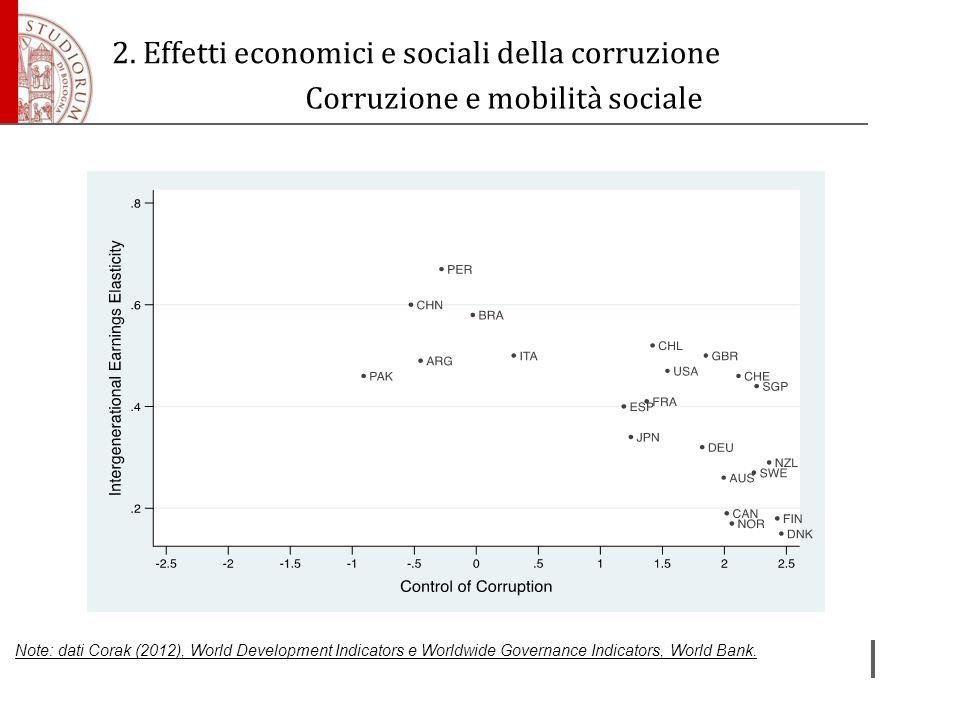 Corruzione e mobilità sociale