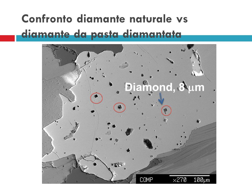 Confronto diamante naturale vs diamante da pasta diamantata