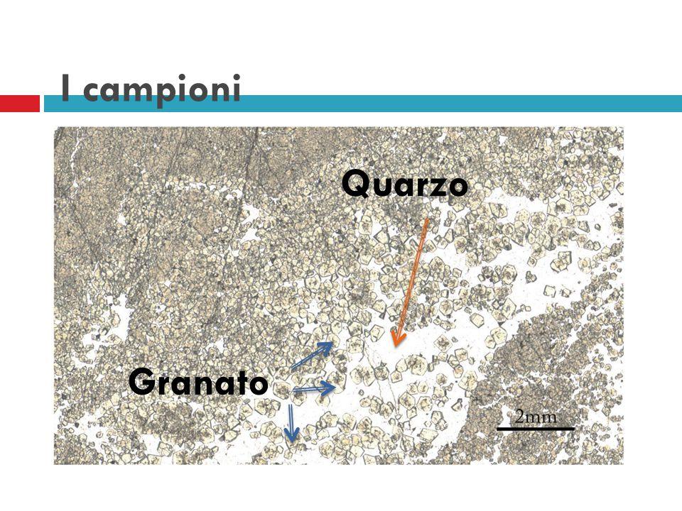 I campioni Quarzo Granato