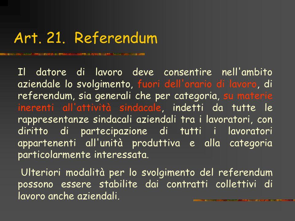Art. 21. Referendum