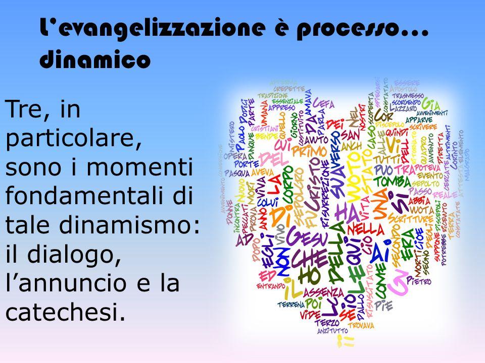 L'evangelizzazione è processo… dinamico