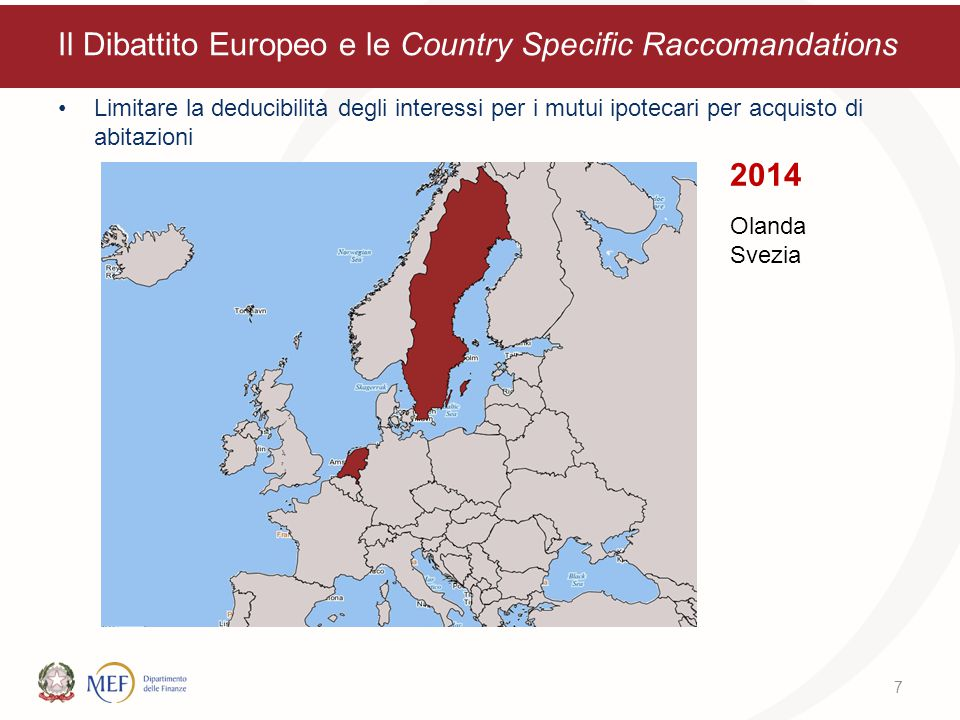 Il Dibattito Europeo e le Country Specific Raccomandations