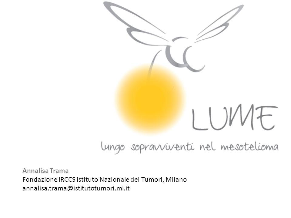 Annalisa Trama Fondazione IRCCS Istituto Nazionale dei Tumori, Milano.