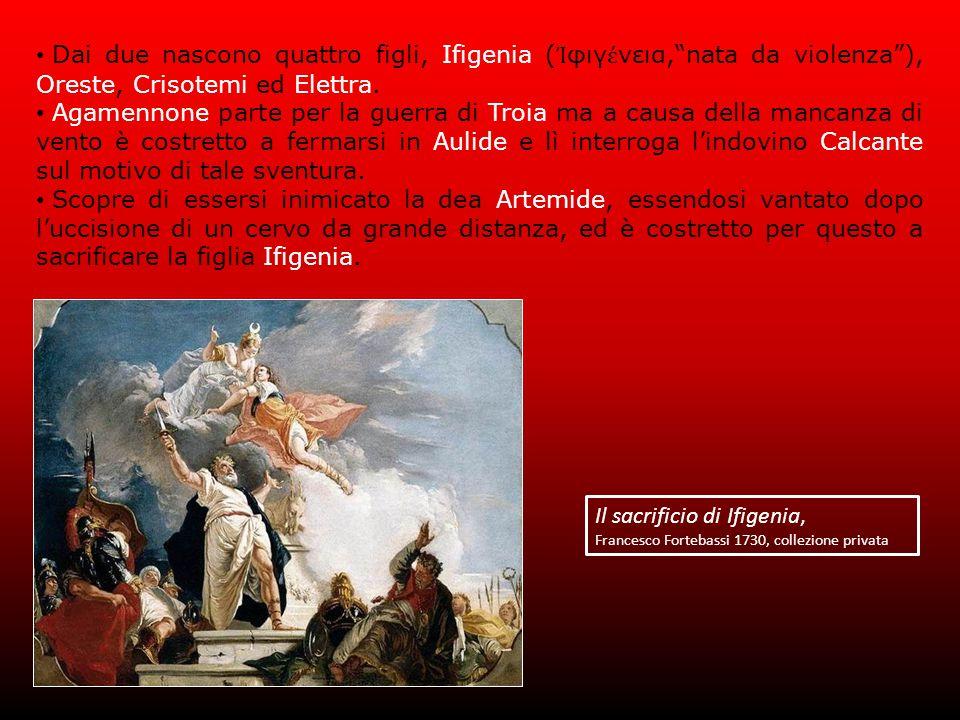 Il sacrificio di Ifigenia,