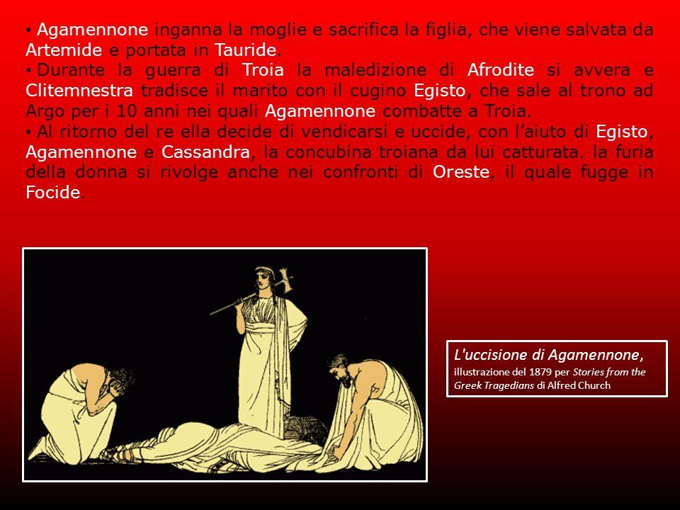 L uccisione di Agamennone,