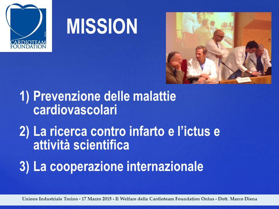 MISSION Prevenzione delle malattie cardiovascolari