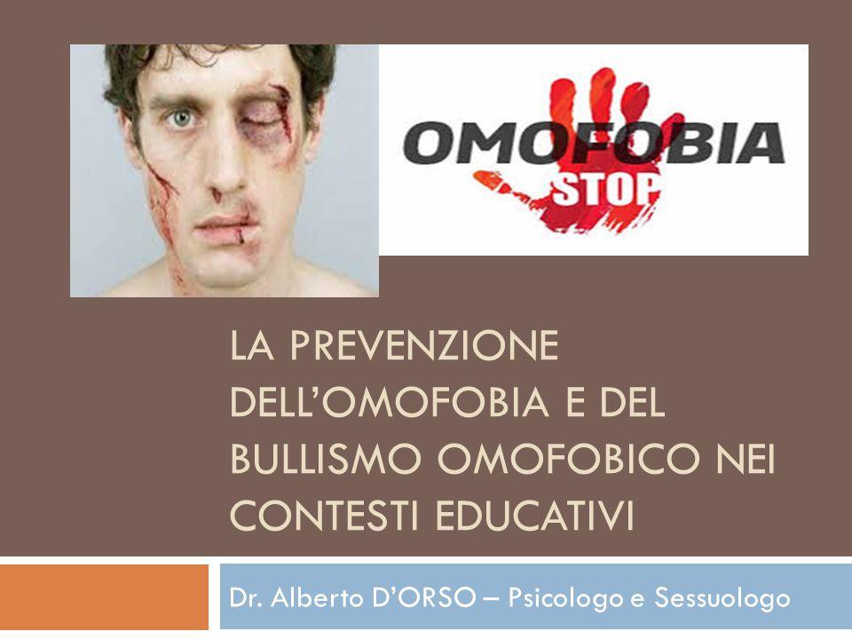 Dr. Alberto D'ORSO – Psicologo e Sessuologo