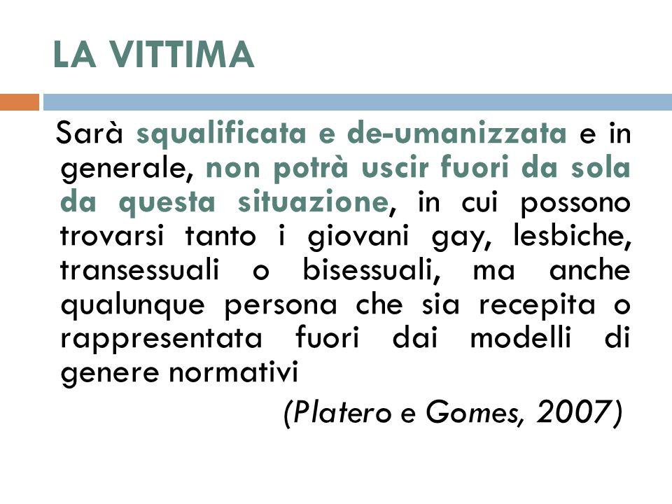LA VITTIMA (Platero e Gomes, 2007)