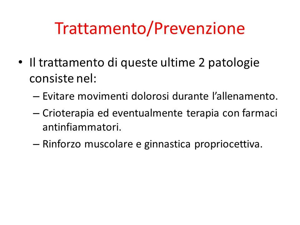 Trattamento/Prevenzione