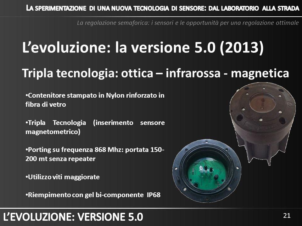 L'evoluzione: la versione 5.0 (2013)