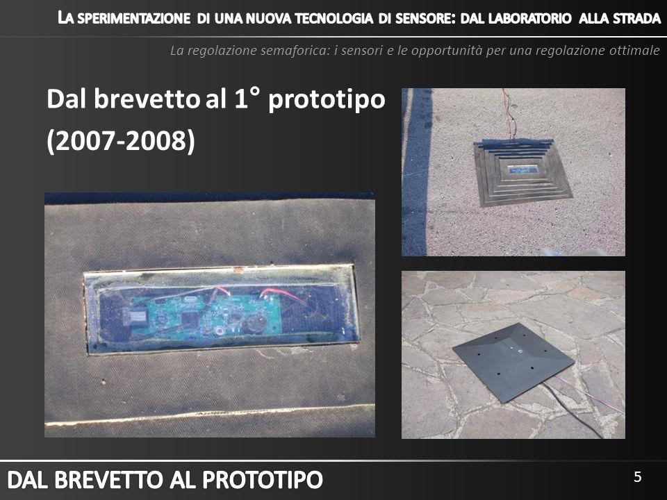 Dal brevetto al 1° prototipo (2007-2008)